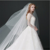 Hen Party Decoration Two-Layers 5m Bridal Tulle Veils with Comb