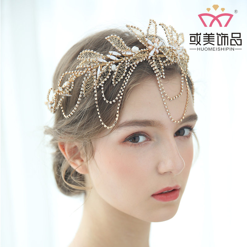 Elegant Rhinestone Crowns Hair Accessories Wedding Tiara Bridal Crown