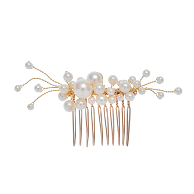 Pearls Bridal Hairband Headdress Fashion Hair Accessories Wedding Jewelry Women Party Prom