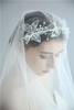 Factory Price Lace Flower Princess Crown Tiaras Wedding Crowns for Bride