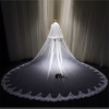 Bachelorette Hen Party Two-Layer Bridal Wedding Veil With Comb