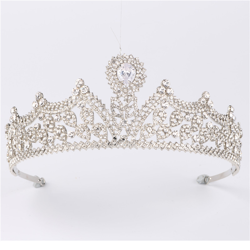 Hair Accessories Bridal Head Tiaras Hair Jewelry Women Wedding Crowns