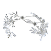 Classical Western Style Wedding Accessories Large Flower Hair Clips For Bride
