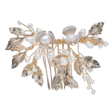Elegant Bridal Hair Comb Prom Decorative Accessories Hollow Hair Side Combs