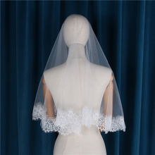 New Korean Simple Super Fairy Creative Designed One-layer Lace Bridal Veil