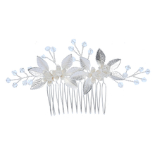 Creative Design Patent Fancy Headdress Flower Bridal Accessories Hair Comb