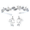 Wedding Accessories Crystal Rhinestone Bridesmaid HeadPiece Set