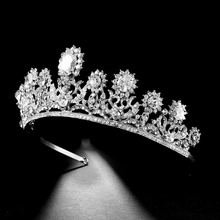 Fashion Jewelry Bridal Tiara Crown Rhinestone Crystal Wedding Crown