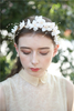 Flower Bridal Hair Vine Accessories Hairbands Wedding Floral Headpieces