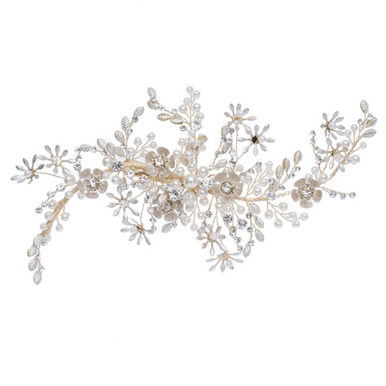 Luxury Pearl Flower Hair Pin Wedding Hair Accessories Bride Hair Clips