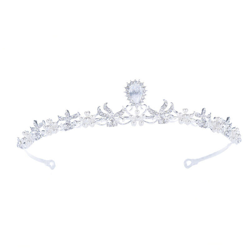 Factory Direct Sales Handmade Wedding Jewelry Fashion Crystal Crown