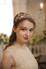 Gold Pearl Wedding Bridal Crown Wedding Headpiece Bridal Hair Crown