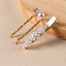 Jewelry Trending Hair Pin Fashion Wedding Bridal Women Pearl Hair Clip