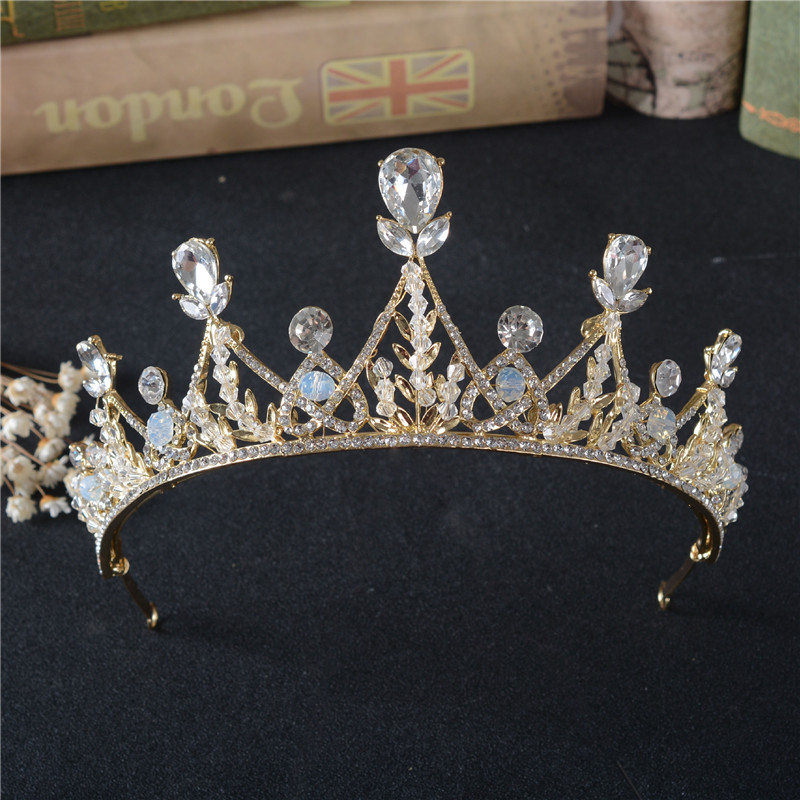 Beauty Crystal Hair Crown Girls Fashion Birthday Party Princess Crown