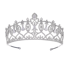 Beautiful Adult Wedding Hair Accessories Crystal Bling Bridal Crown Tiaras