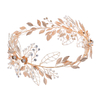 Leaf Accessories Hair Jewelry Tiara Headband Women Bridal Hair Vine Wedding Headpiece