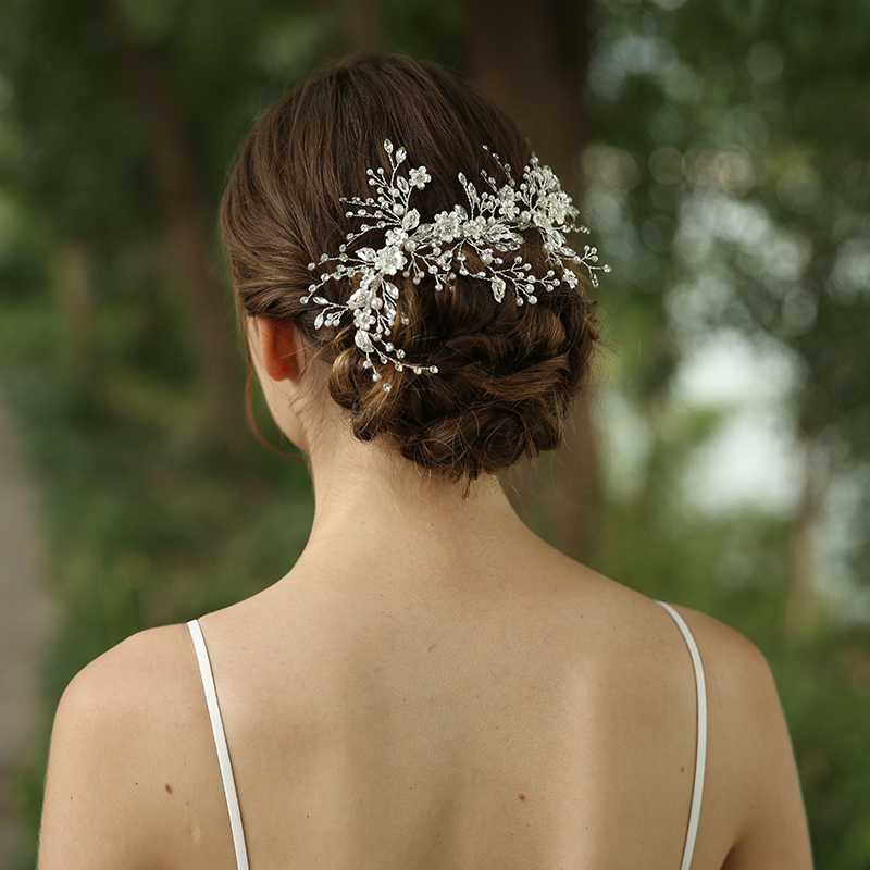 2020 New Wedding Hair Accessories Bridal Hairclip With Crystal Rhinestone