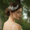 Fashion Crystal Rhinestone Leaves Design Birdal HairClip Headpiece