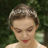 Fashionable Handmade Crystal Rhinestone Pearl Bridal Headband